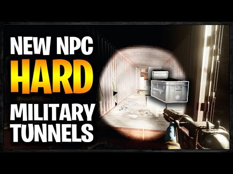 Fighting SOLO against the NEW OP NPCs in Military Tunnels | Rust Raid Diary S8E2 thumbnail