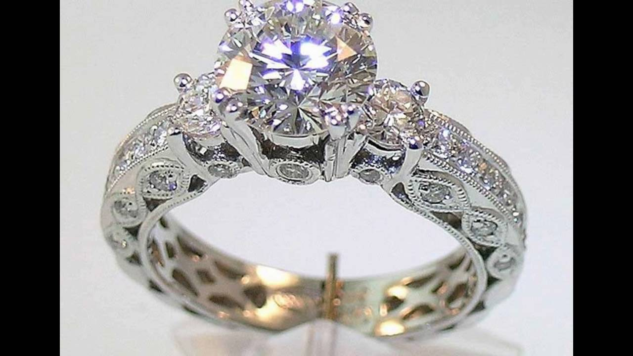 Top 10 beautiful diamond rings - YouTube
