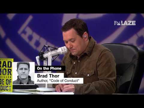 "Brad Thor Excoriates the Media   ""Glenn Beck Radio Program"""