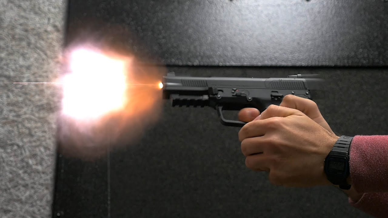 FN 57 (Five-seveN) Gas Blowback Pistol (CO2) Airsoft Gun Review .