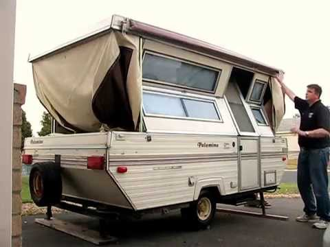 Folding Up Our 1991 Palomino Hard Sided Popup Camper