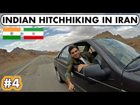 MY FIRST HITCHHIKING IN IRAN 🇮🇷🇮🇷🇮🇷