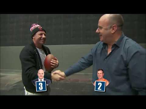 AFL Footy Show - Hutchy Vs Stevie J Goalkicking Challenge