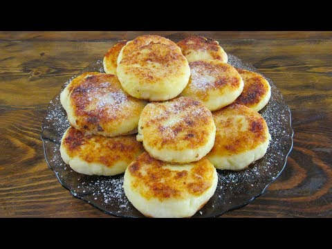 Сырники из Творога. Как приготовить сырники из творога на сковороде! Рецепт сырников