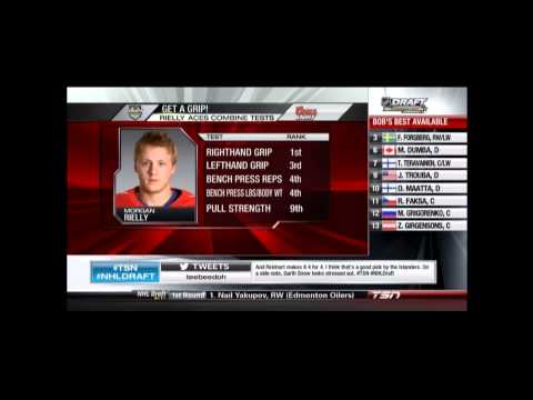 2012-13 Toronto Maple Leafs Draft Morgan Reilly at #5.