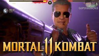 "Terminator Wins The Battle Of Scrubs! - Mortal Kombat 11: ""Terminator"" Gameplay"