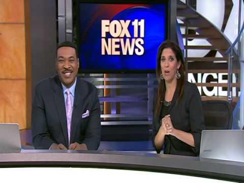 "Fox 11 News Los Angeles - ""Rap it Up for Xmas"" Song (ft. Jourdan Rystrom)"