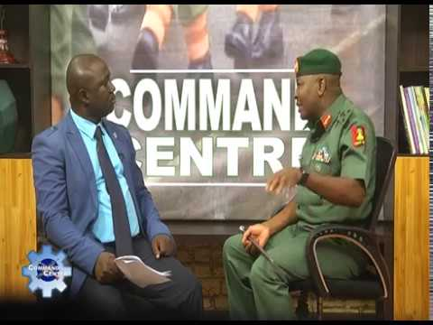 COMMAND CENTRE WITH BRIG. GEN. SANI USMAN (21 06 17)