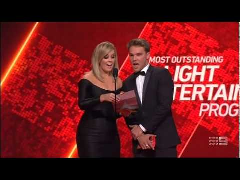 Housos wins for Most Outstanding Light Entertainment Program at the 2014 Logie Awards