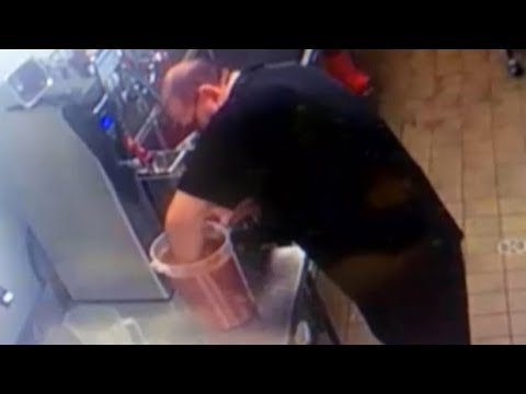 The Bus Driver - Food News: Restaurant Employee Caught Stirring BBQ Sauce With His ARM!