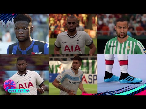 WZRD PCK V8 (50+ FACES, 45+BOOTS, ALL NEW BALLS, TATTOOS, TRANSFERS, 2019/20 40+KITS & MINIKITS)