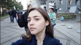 Смотреть видео 🔴 Пикеты Бессрочного протеста в Санкт-Петербурге онлайн