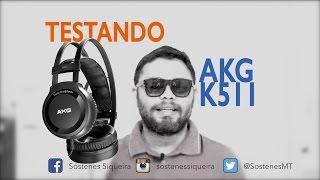 Review fone AkG k511