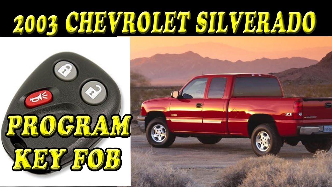 NEW Keyless Entry Key Fob Remote For a 2000 Chevrolet Silverado 1500 DIY Program