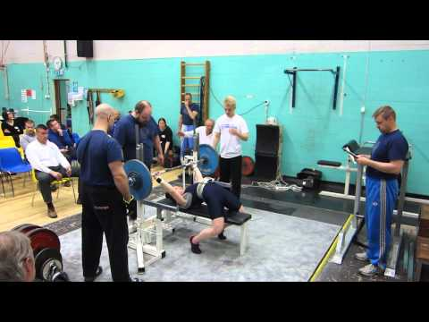 Finnish record 72,5kg in raw bench press at Helsinki, Kontula 10.5.2014