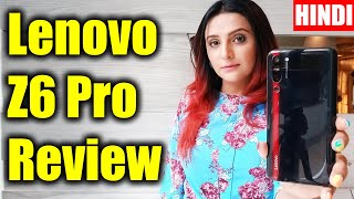 🇮🇳 📱 [Hindi] Lenovo Z6 Pro Hands on review of specs, features, camera test, price in India