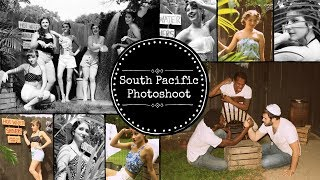 South Pacific Inspired Photoshoot