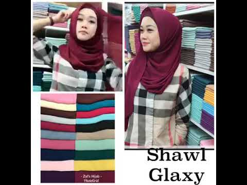 Instant Shawl with inner (mosscrepe inside).