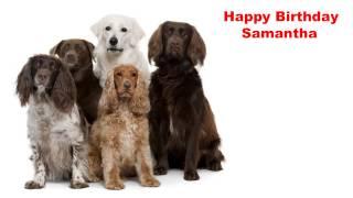 Samantha - Happy Birthday - Dogs - Happy Birthday