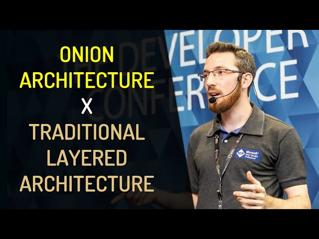 Onion Architecture X Traditional Layered Architecture