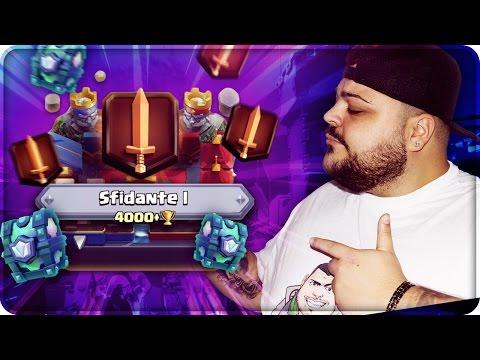 FINALMENTE 4000 COPPE & LEGA SFIDANTE 1 !!! [Clash Royale]