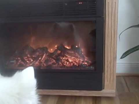 heat surge fireplace with amish mantle review youtube rh youtube com