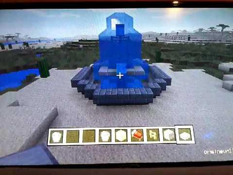 Minecraft Come Fare Una Fontana Spettacolare Youtube