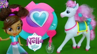 Nella the Princess Knight Toys Trinket Color Changers Style Me Night Shield Sword Girl Horse Toys