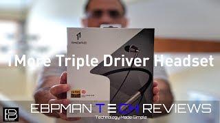 1More Triple Driver High Res Audio Bluetooth Headphone with Builtin LDAC