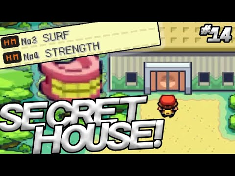 HOW TO FIND THE SECRET HOUSE IN SAFARI ZONE - Pokemon: Fire Red Part 14