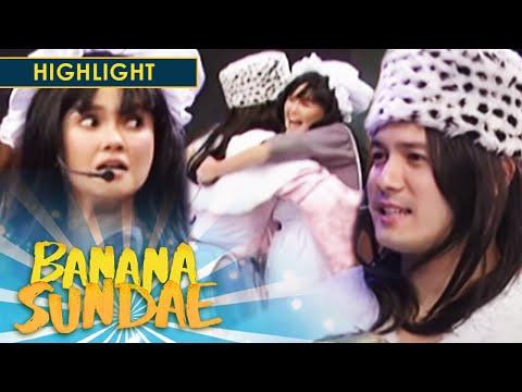 Banana Sundae: Princess Sarah and Becky's reunion