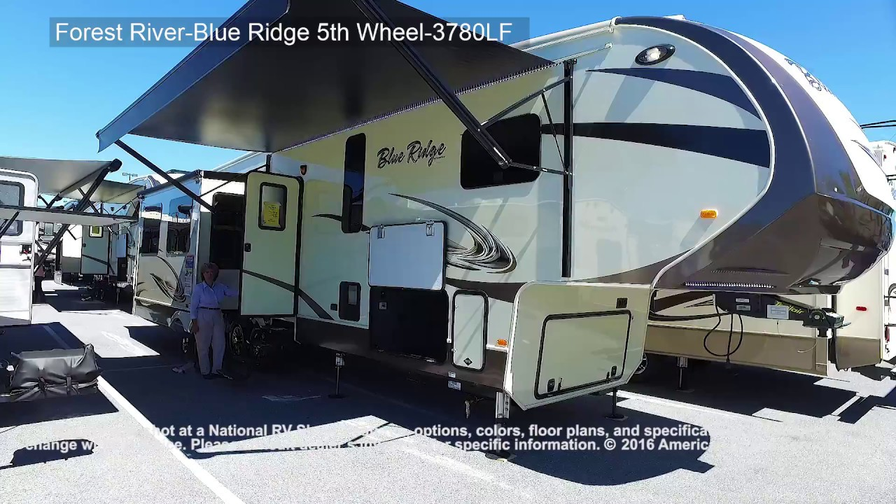 2017 Forest River Blue Ridge 5th 3780lf Youtube