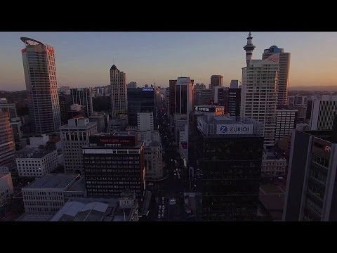 Amazing DRONE FOOTAGE of Auckland City 2