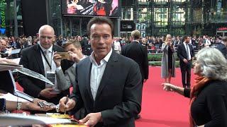 4K   Terminator 5 - Genisys   European Premiere in Berlin 21.6.2015