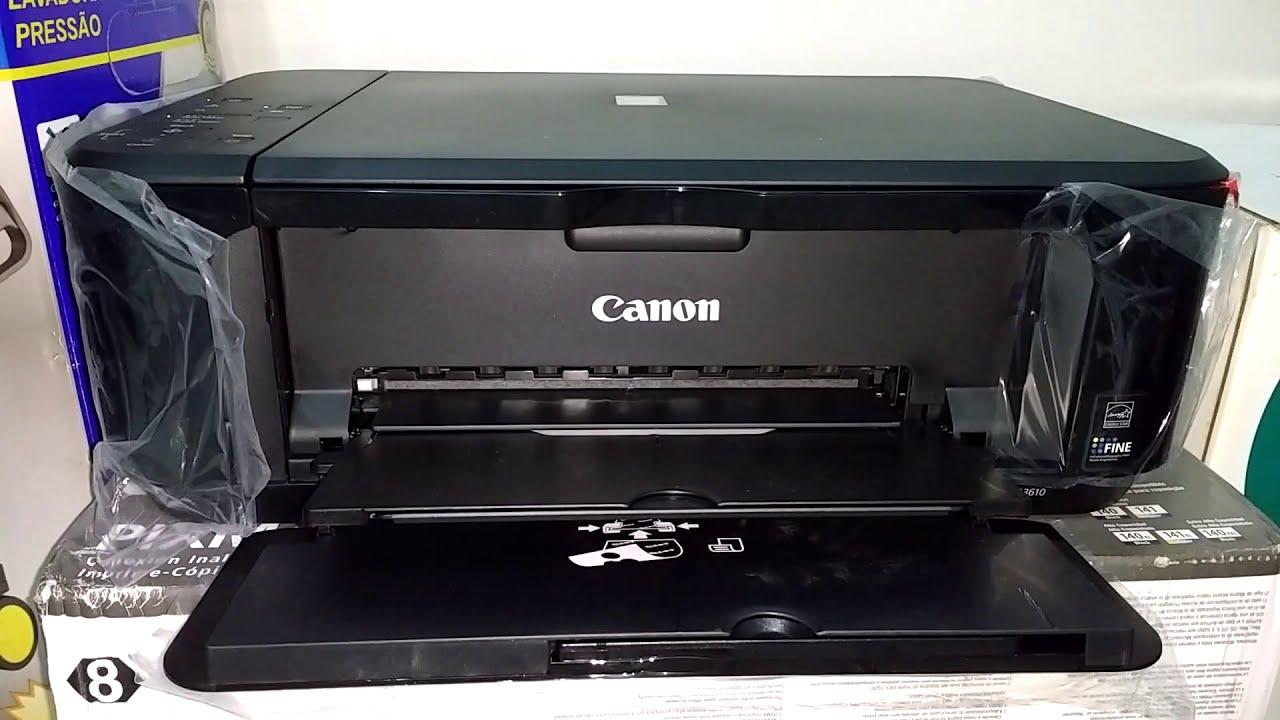 Instalar Canon Pixma Mg3610 Para Funcionar Via Wifi