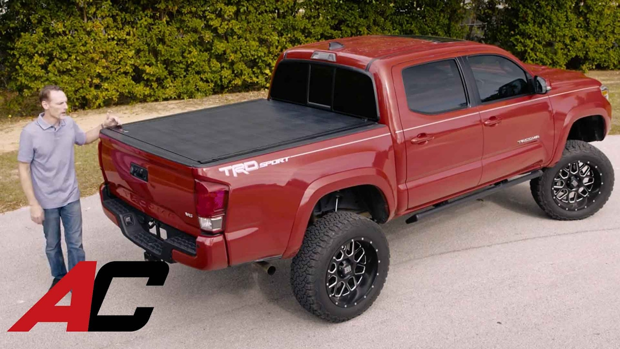 bak revolver x2 tonneau cover product review on a 2016 toyota tacoma at youtube. Black Bedroom Furniture Sets. Home Design Ideas