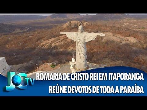 Romaria de Cristo Rei, em Itaporanga, reúne devotos de toda a Paraíba - REDE VIDA