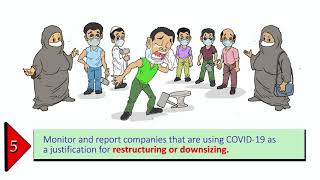 Covid-19 Prevention mitigation measures: Ten Action Points for Trade Unions