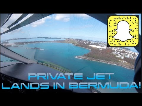 YOUTUBE PILOT FLIES PRIVATE JET TO BERMUDA-VLOG 011
