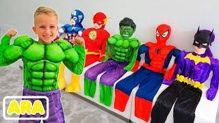 Download فلاد يتحول إلى أبطال خارقين | جمع الفيديو للأطفال Mp3 and Videos