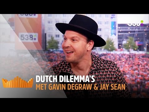 Kiezen Gavin DeGraw & Jay Sean voor een joint of alcohol? | Dutch Dilemma's | 538Koningsdag 2017
