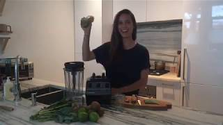 How to Make a Raw Green Smoothie