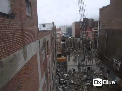 Roaster's Block Mechanical Tower Demolition | Kansas City, MO