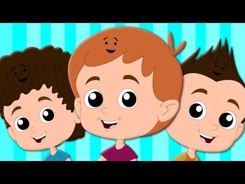 Hair Song   Original Nursery Rhymes   Songs For Children   Baby Rhymes   Kids Tv Cartoon Videos