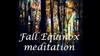 fall equinox meditation 2017