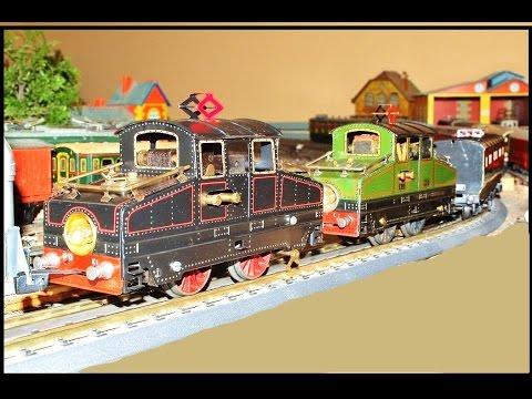 Train jouet ancien double traction de boites sel du - Salon du jouet ancien ...
