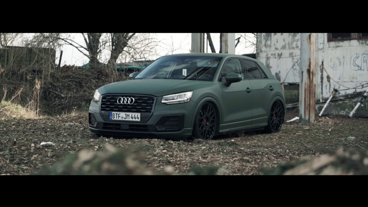 audi q2 mit performance airride top secret tuning youtube. Black Bedroom Furniture Sets. Home Design Ideas