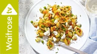 Fresh Pea And  Broad Bean Pasta Salad | Waitrose