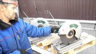 Тестирование отрезных кругов диаметром 355 мм(Сравнительный тест отрезных кругов диаметром 355мм участвуют Makita, CUTOP, Луга, DEWALT . Источник: http://www.youtube.com/watch?v=Jk..., 2015-09-17T10:19:22.000Z)