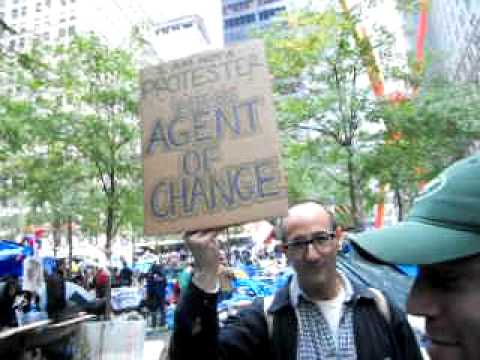 New York, New York! Occupy Wall Street Zuccotti Park Daily Routine